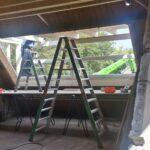 Bouw eerste dakkapel De Oude Jongensschool